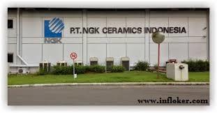 Lowongan Kerja Operator Produksi PT NGK Ceramics Indonesia Terbaru