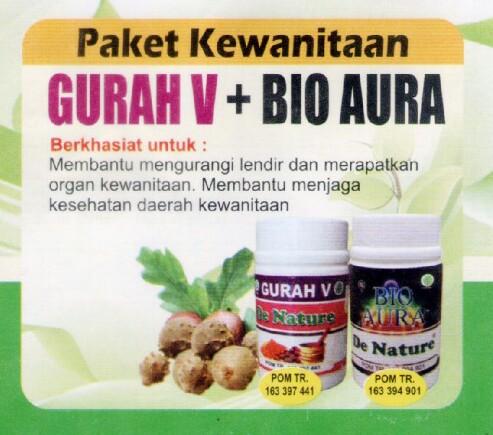 paket gurah v dan bioaura, paket kewanitaan gurah v dan bioaura, paket herbal gurah v dan bioaura, paket alami gurah v dan bioaura