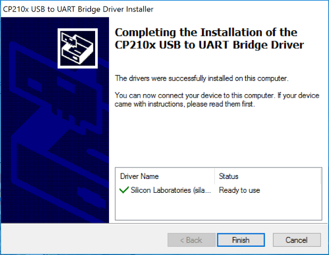 Install the CP210x USB