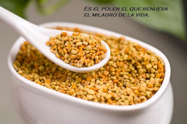 ¿Qué es el polen de flores?