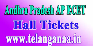 Andhra Pradesh AP ECET APECET 2017 Hall Tickets Download