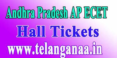Andhra Pradesh AP ECET APECET 2018 Hall Tickets Download
