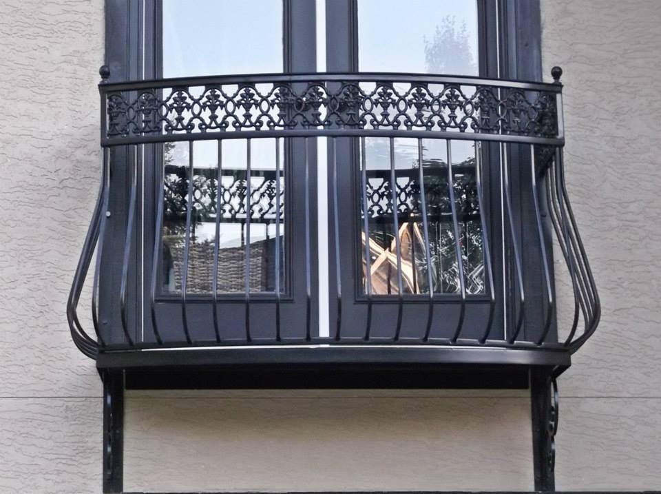 Decorative Iron of NC Inc: Wrought Iron Balcony Design