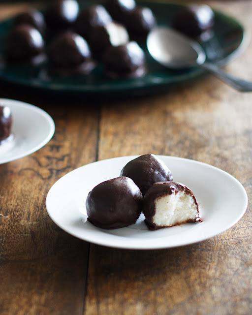 15 ways to use coconut oil in your home: Chocolate Coconut Balls