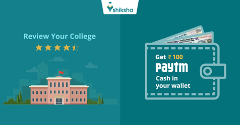 Write a review on shiksha.com and get ₹100 paytm voucher