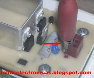 como medir tarjeta de lavadora electrolux