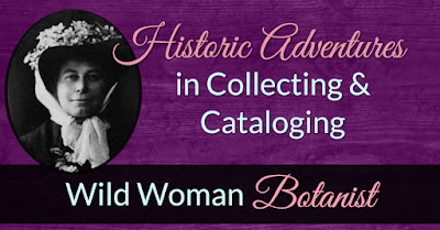 Historic Adventures in Collecting and Cataloging with Alice Eastwood