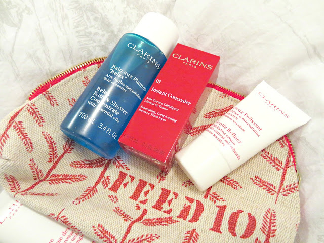 FEED for Clarins Free Charity Beauty Gift With Purchase
