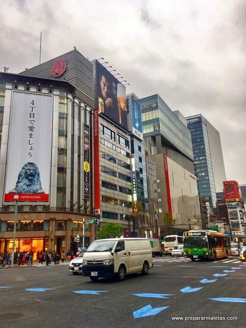 día 1 en Tokio. Llegada
