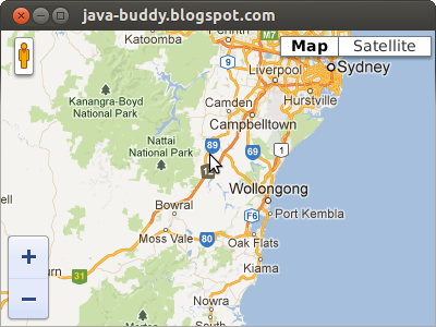Embed Google Maps API v3 in JavaFX WebView