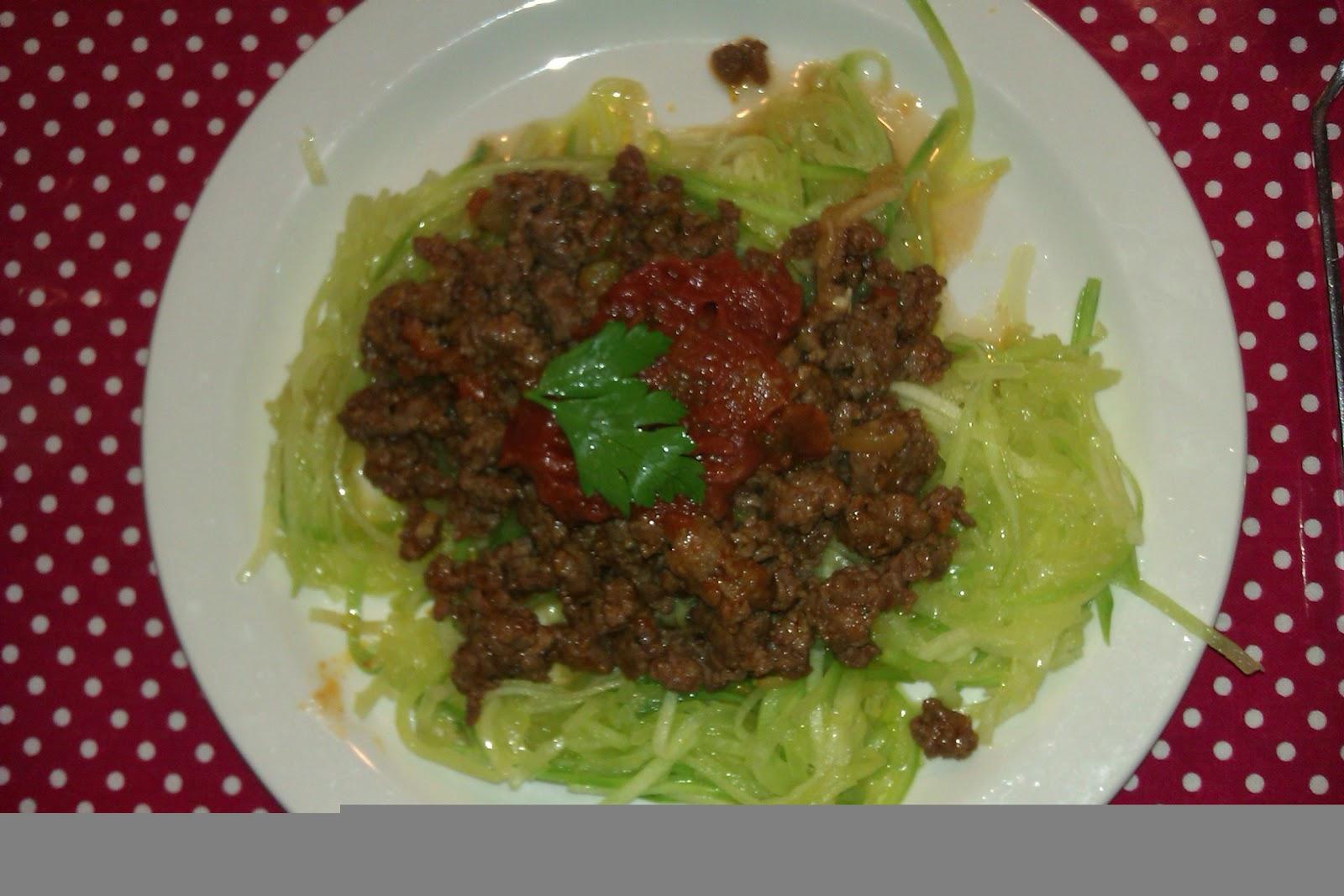 spaghetti og kødsovs