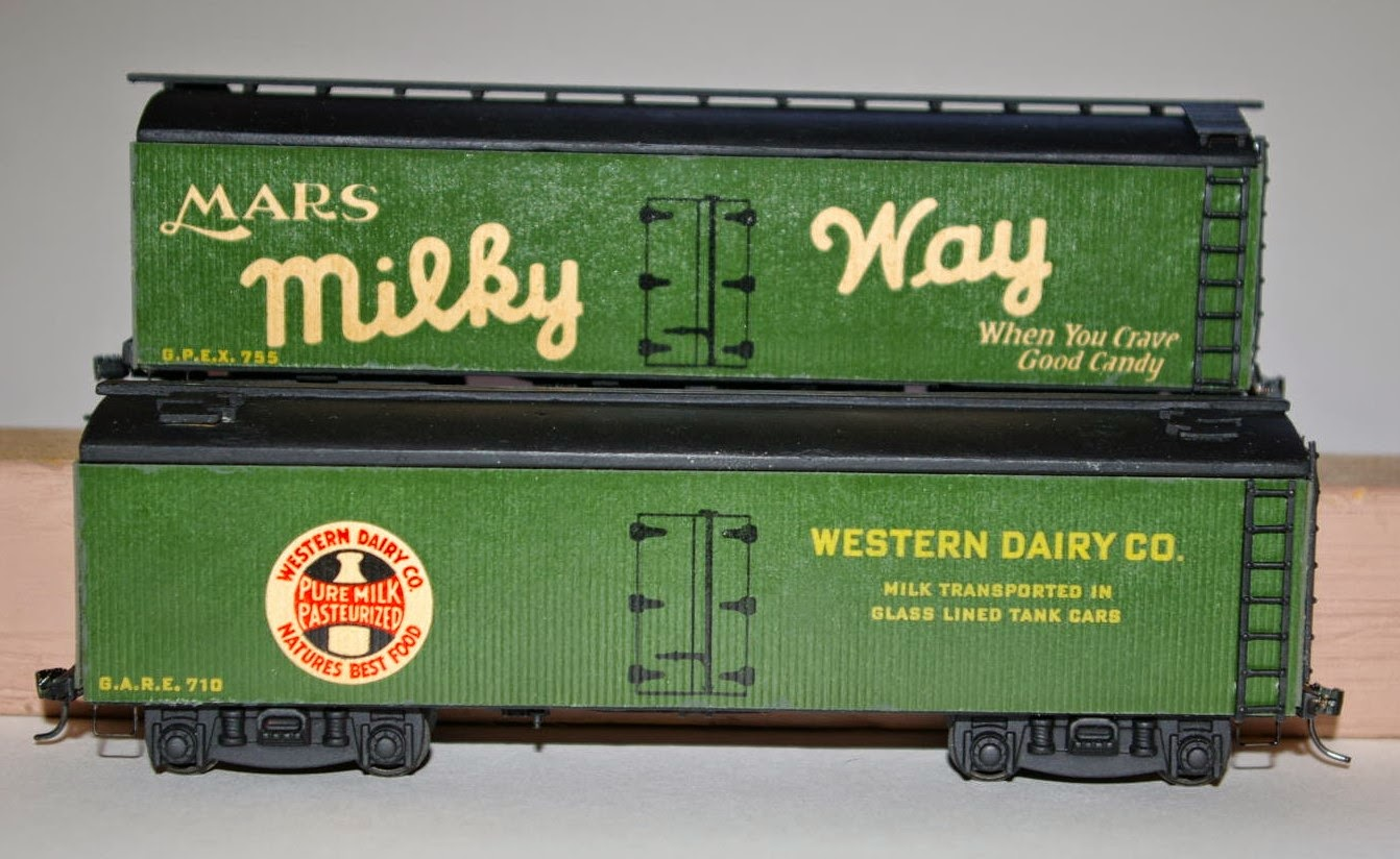 American Oo Today A Pair Of Champion Milk Express Reefers