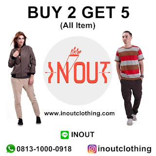 Promo Buy 2 Get 5 In Out Clothing