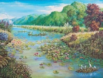 http://pl.123rf.com/photo_12836770_obraz-olejny-na-pa--a-tnie--krajobraz-z-lotosu-bagna.html