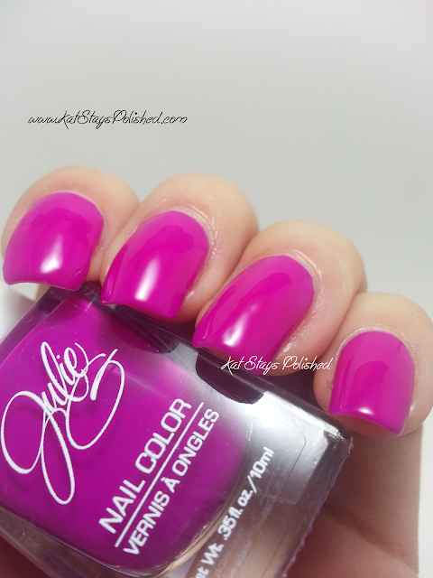 JulieG Nail Color - Fierce & Fab