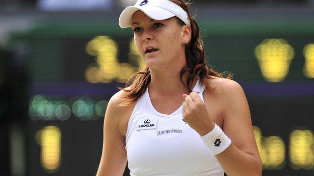 Polish Tennis Player Agnieszka Radwanska Nude for Espn