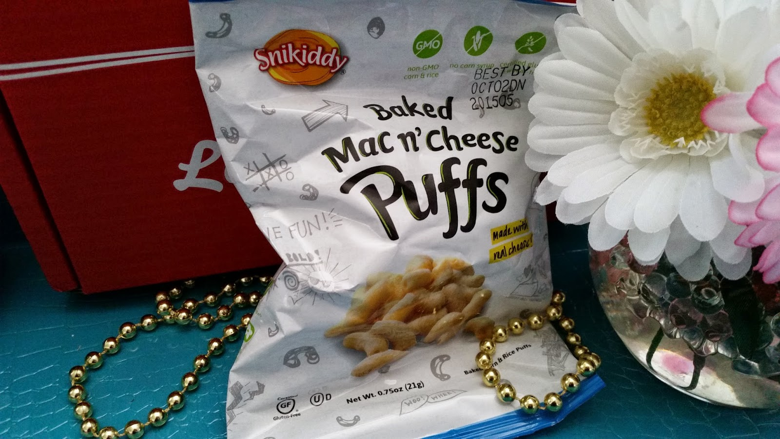 Snikiddy Baked Mac N' Cheese Puffs
