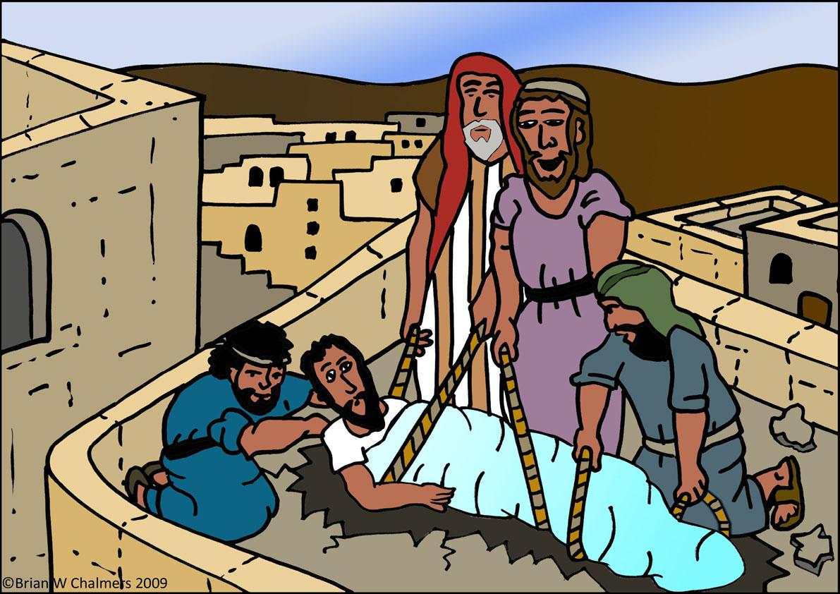 Heals Paralytic Flip Chart Paralyzed Coloring Page: Miscosasyyo: Sanar Toda La Persona (Marcos 2,1-12