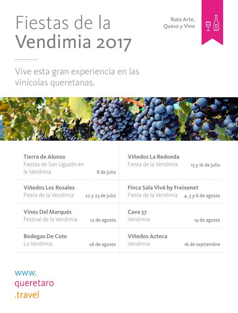 fiestas de la vendimia querétaro 2017