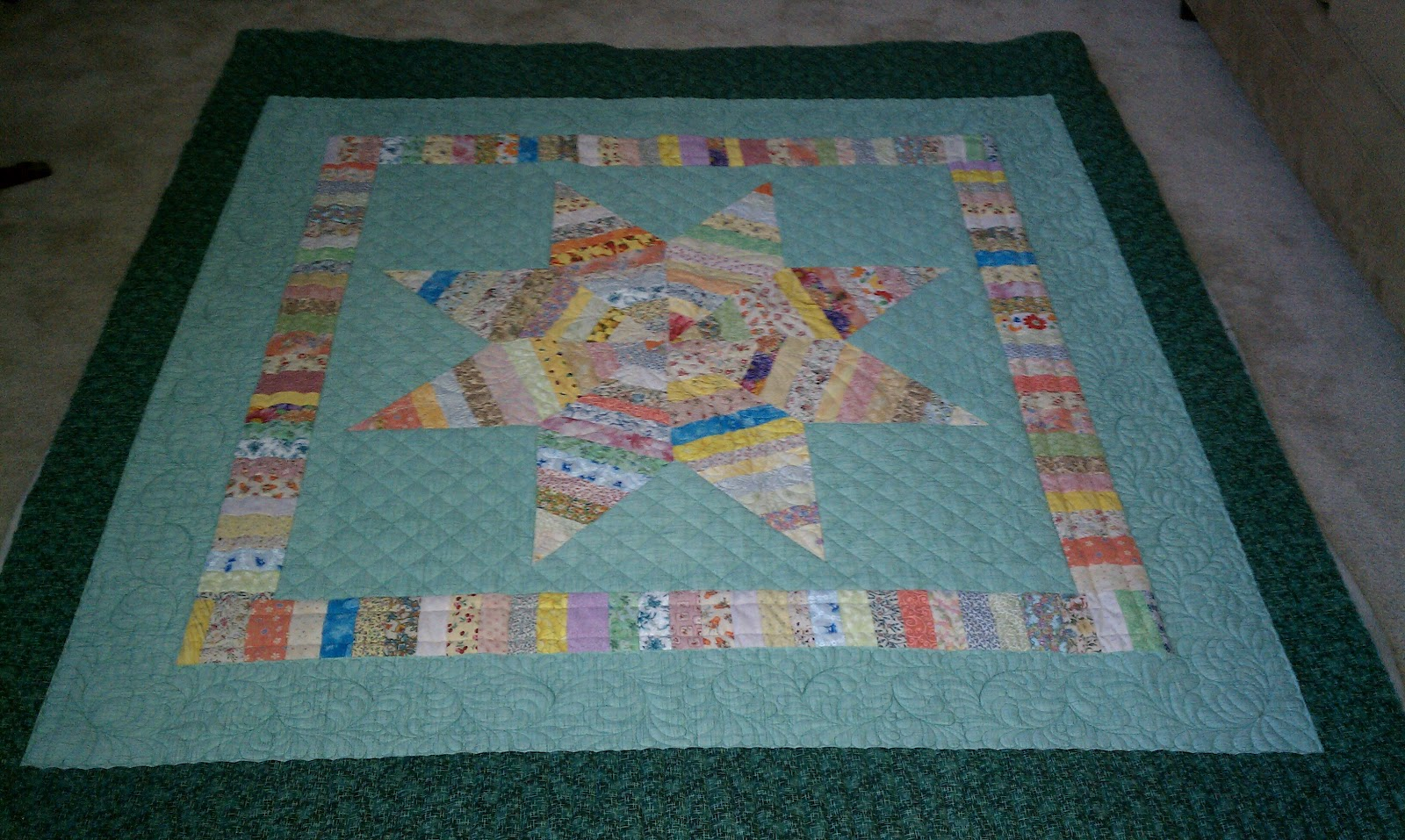 Lone Star Quilt Strip 75