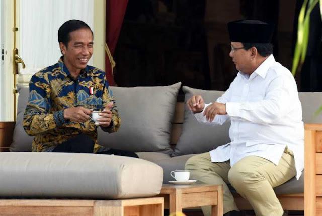 Jokowi dan Prabowo Sudah Saling Tertawa, Masak Kamu Masih Mau Bermusuhan
