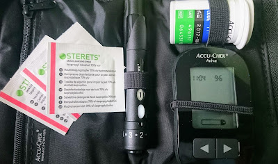 AccuChek Diabetes Test Kit