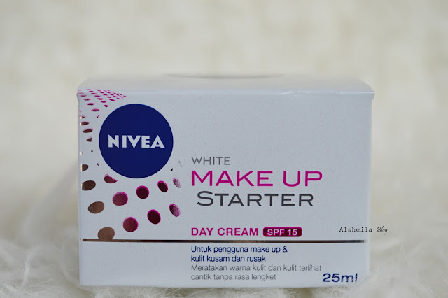 Nivea Make Up starter white cream