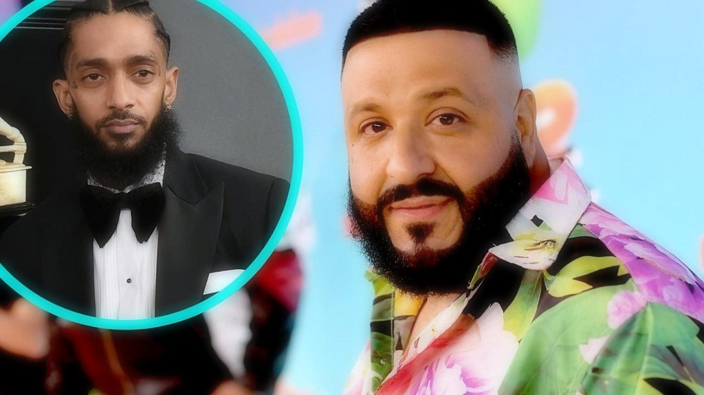 DJ Khaled paid tribute to Nipsey Hussle