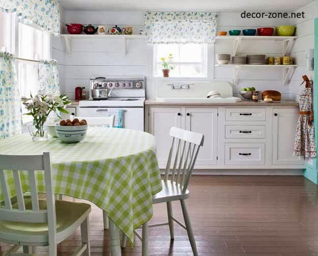kitchen textiles, kitchen decorating ideas