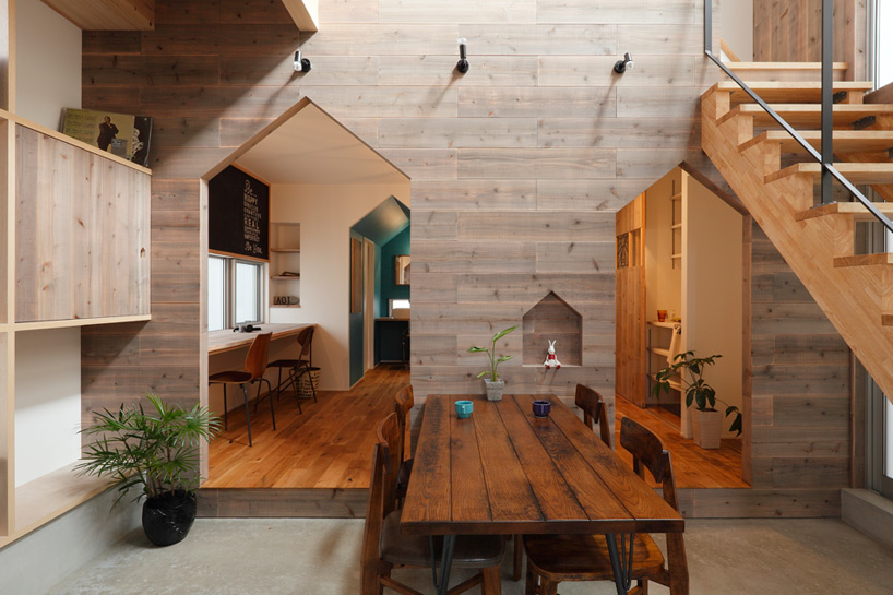 Hazukashi House by ALTS Design Office  ARC ART blog by