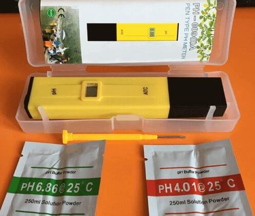 fungsi ph meter pada hidroponik