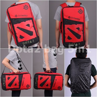 Gaming Bag - Tas Gaming Barracuda V5 5in1 - Dota 2