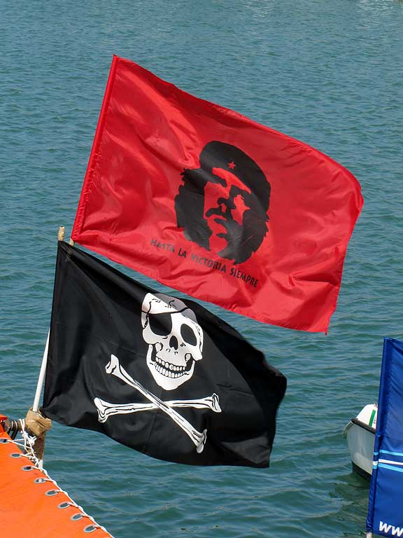 Che Guevara, Jolly Roger, New Harbour, Livorno