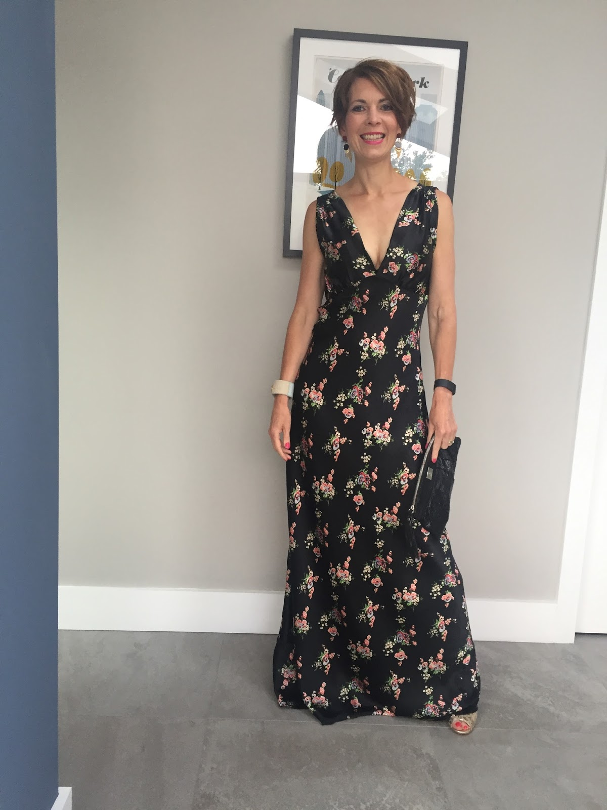 The Topshop Floral Length Maxi Dress – fit for a ball or the beach