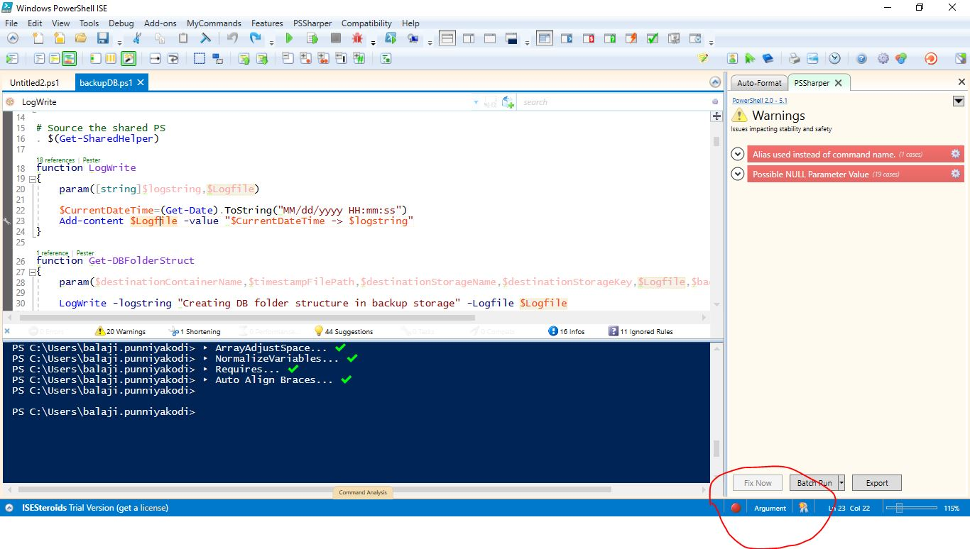 Powershell ISE Add on | Powershell ISE with Steroids