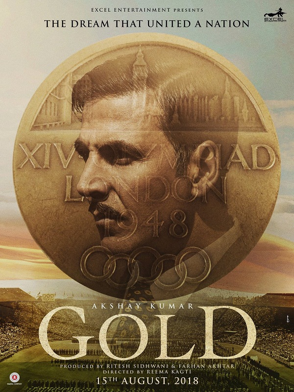 Akshay Kumar and Mouny Roy New Upcoming movie 2018 Gold latest poster release date star cast, actress name, news
