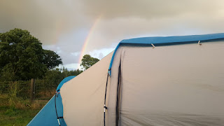 A Rainbow over the Tent