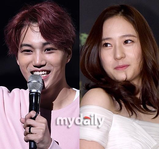 Kai and krystal dating rumors