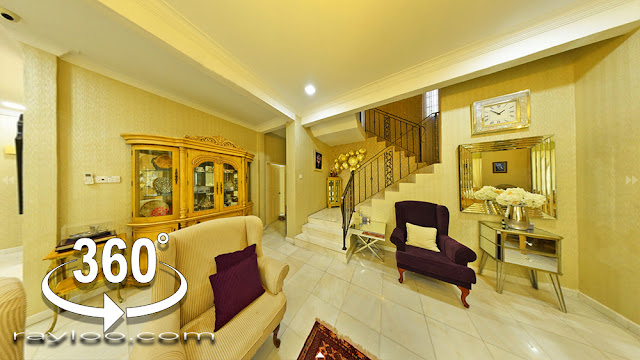 Bukit Jawi Near Golf Course Tastefully Renovated Bungalow Corner Unit For Sale
