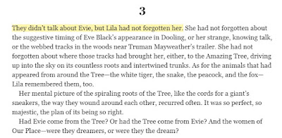 They didn't talk about Evie, but Lila had not forgotten her.