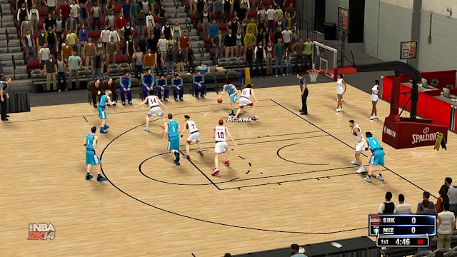 Shohoku vs Mizuho NBA 2K14