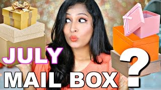 What's In My Mail Box?   July Haul & Reviews