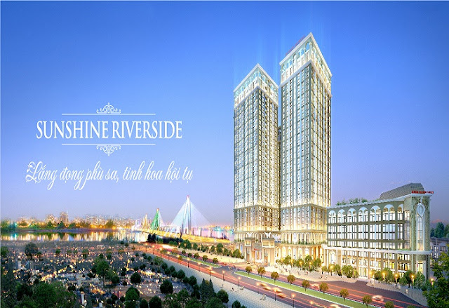 Phối cảnh chung cư Sunshine Riverside