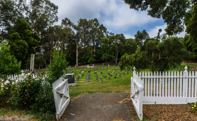 haunted Agua Mansa Pioneer Cemetery in California