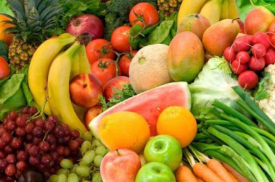 Buah dan sayuran memiliki kandungan serat