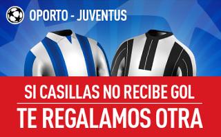 sportium promocion Oporto vs Juventus champions 22 febrero