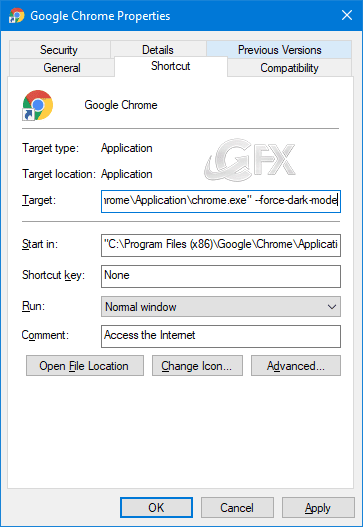 Google Chrome dark mode on Windows 10 - www.ceofix.net
