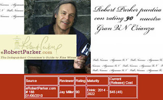AlGraMar Rating 90 Robert Parker