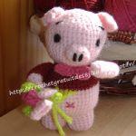 http://crochetgratuitdes8jika.blogspot.com.es/2016/03/etre-copains-comme-cochon.html