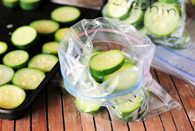 Freezing Zucchini Image